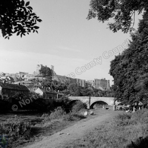 Richmond Bridge and Richmond Castle